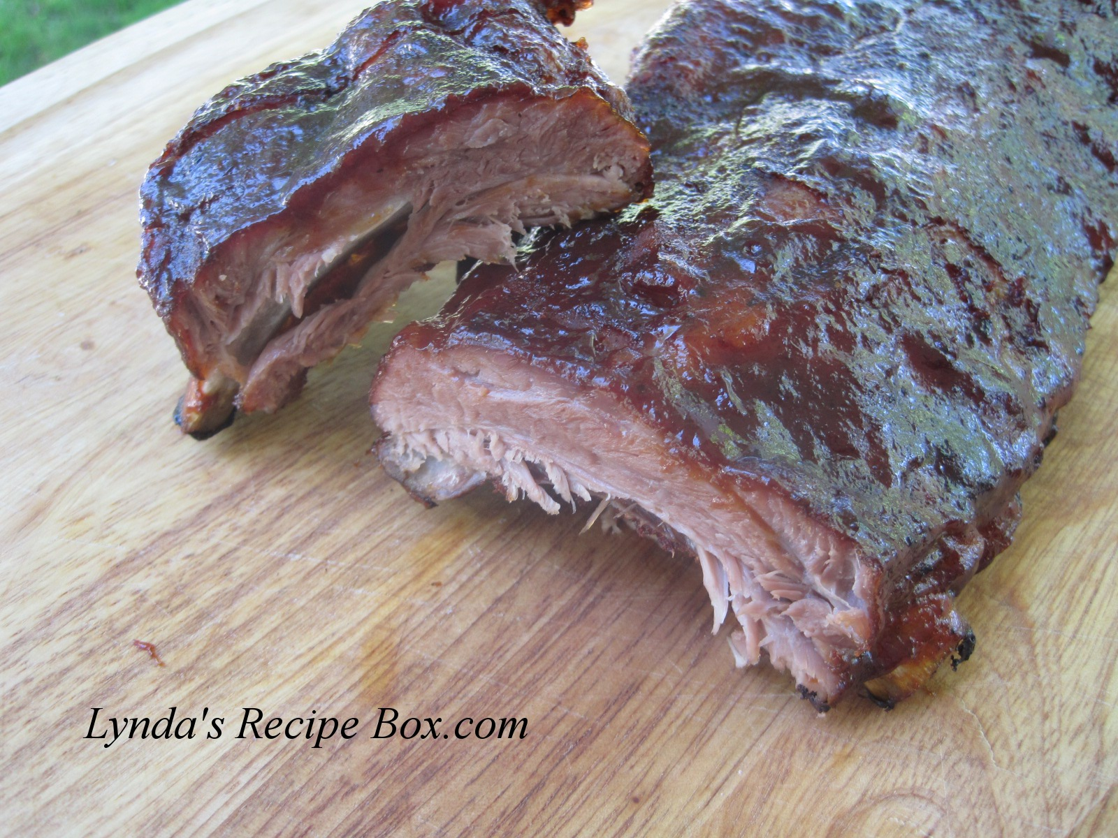 Lynda's Recipe Box: Oven-Baked Barbecued Baby Back Ribs