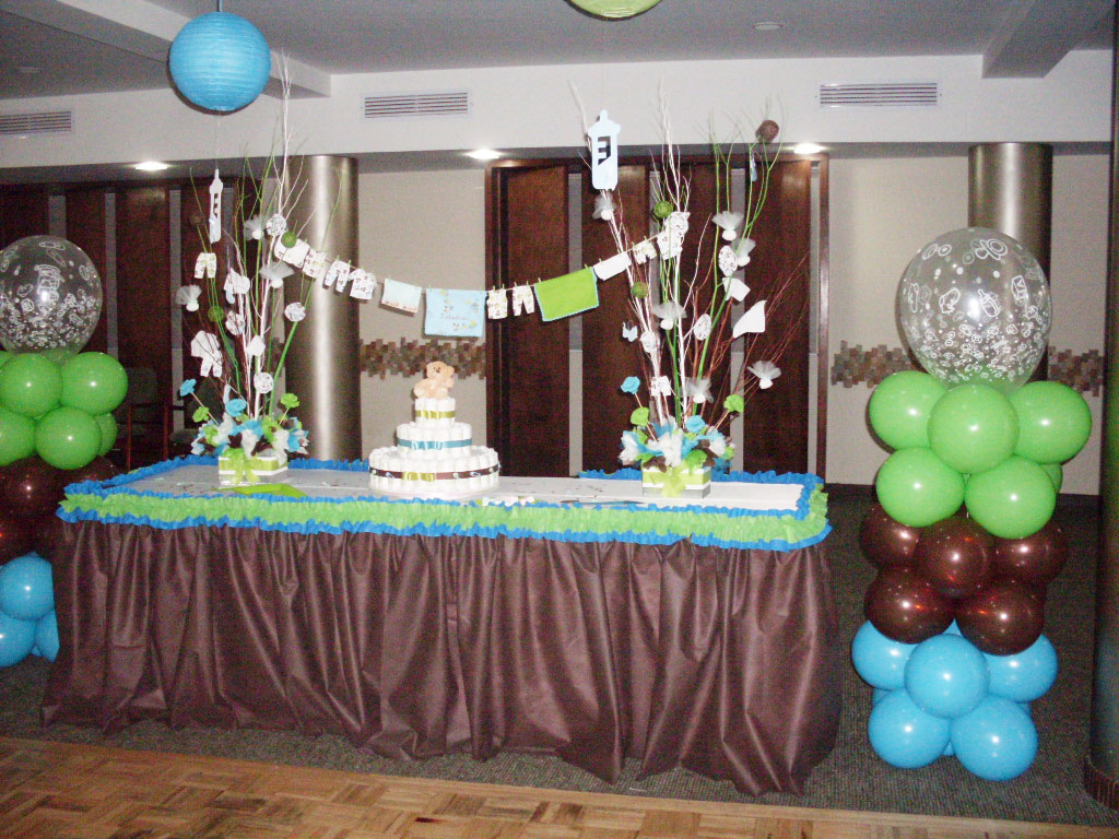 Moms angels decoracion baby shower para ni o - Decoracion pared ninos ...