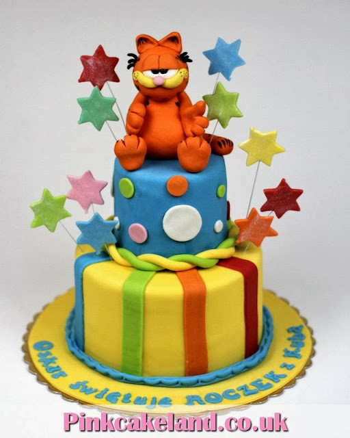 Garfield Birthday Cake in London