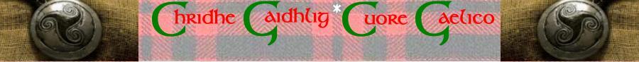 Chridhe Gaidhlig - Cuore Gaelico: Blog delle News