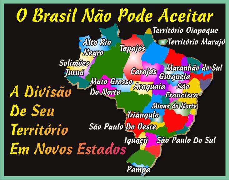 O Brasil Não Pode Criar Novos Estados
