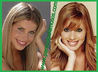 Actrices Brasileñas Karina Bacchi y Daniele Valente