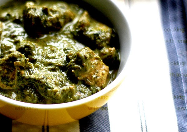 how to make palak chicken pakistani