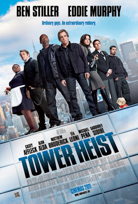 Watch Tower Heist 2011 BRRip Hollywood Movie Online | Tower Heist 2011 Hollywood Movie Poster