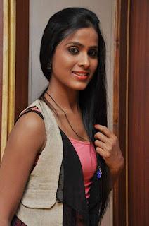 Prashanthi at affair press meet 009.jpg