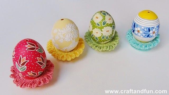 Riciclo creativo craft and fun decorazioni di pasqua - Decorazioni per pasqua ...