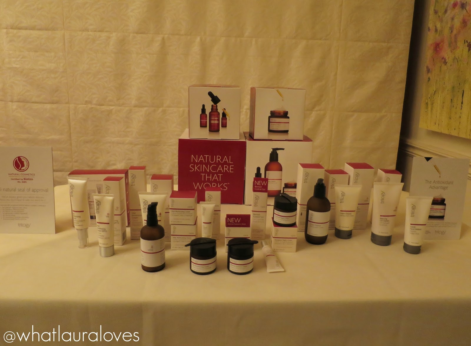 Trilogy Natural Organic Skincare with Rosehip Oil