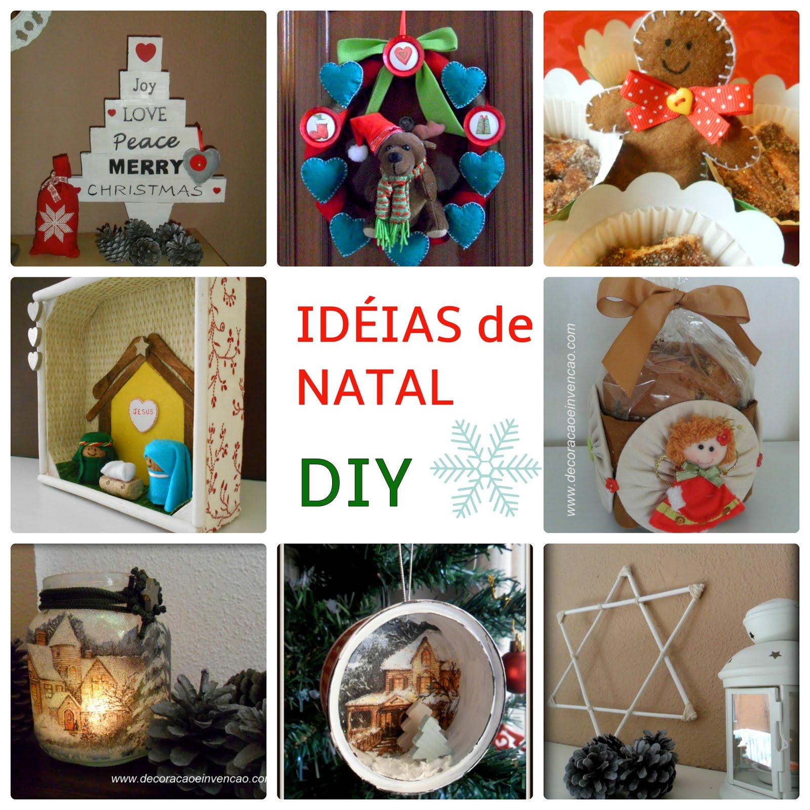 Idéias de Natal -DIY
