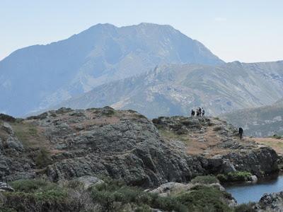 Espigüete desde Lago de las Lomas