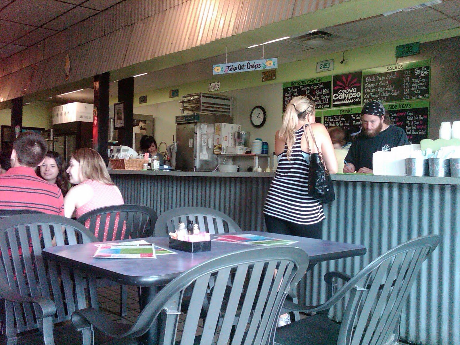 Couva Calypso Cafe Menu