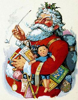 Santa Claus by Thomas Nast