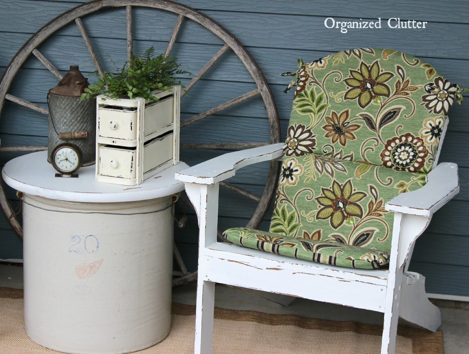 Awesome Adirondacks on the Covered Patio organizedclutter net