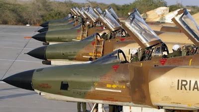 la-proxima-guerra-iran-prepara-maniobras-militares-aereas-golfo-persico-aviones-de-combate-iranies