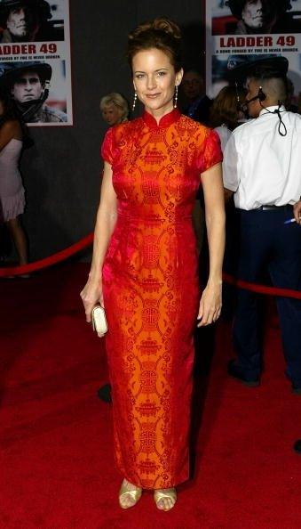 Kelly And Olive Celebrities Like Wearing Cheongsam
