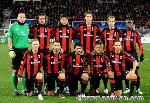 ac milan soccer team Photo