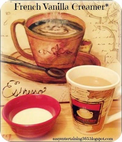 Homemade French Vanilla Creamer Recipe
