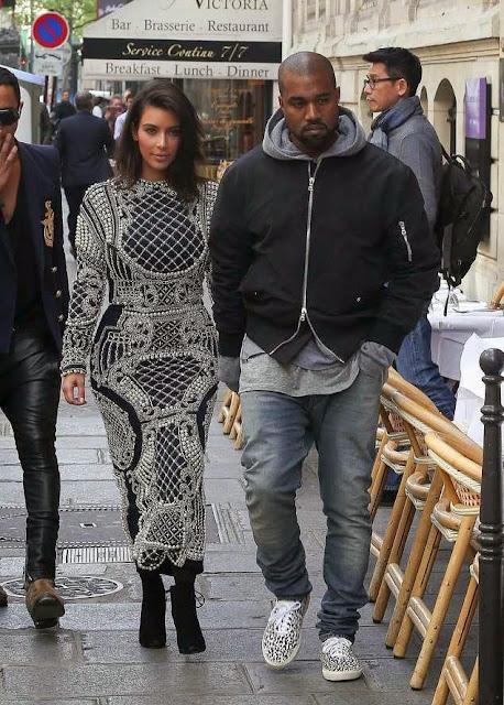 Foto artis luar Kanye West