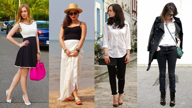 Fashion Tips to Wear Black & White
