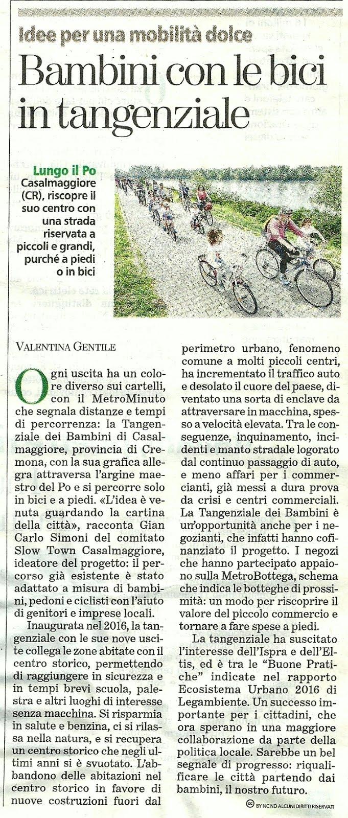 Articolo La Stampa di Torino Tuttogreen
