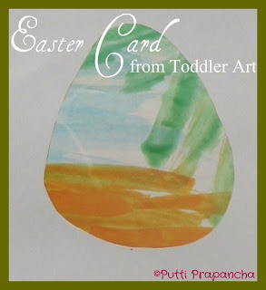 Easter Cards from kids art