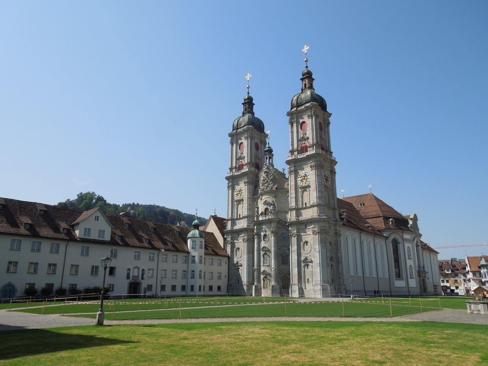 st gall and its convent switzerland. Black Bedroom Furniture Sets. Home Design Ideas