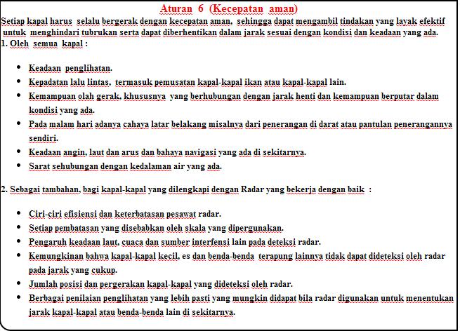 aturan 6