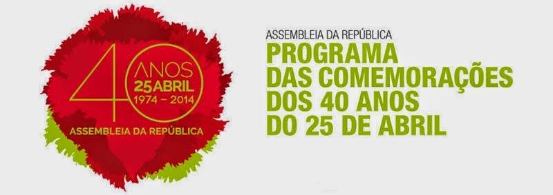 25 de Abril Programa das Comemorações Assembleia da República