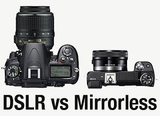 What Choose? Mirror vs Camera Mirrorless Camera