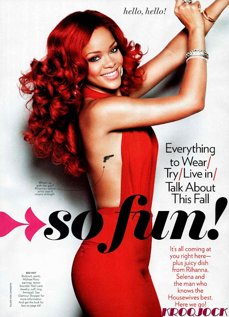Rihanna – Glamour Magazine (September 2011)