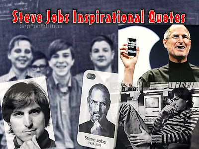 steve jobs' top 25 inspirational quotes