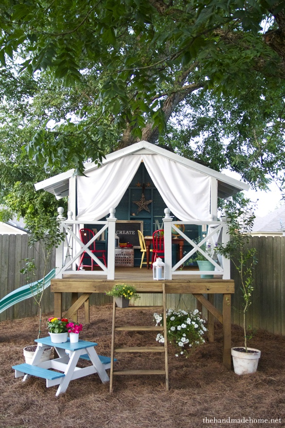 fort a day a gorgeous treehouse and play tent combination