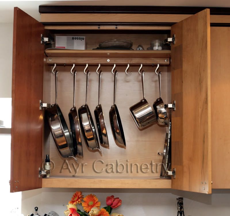 By Your Hands: Organizing ----- Pot Racks