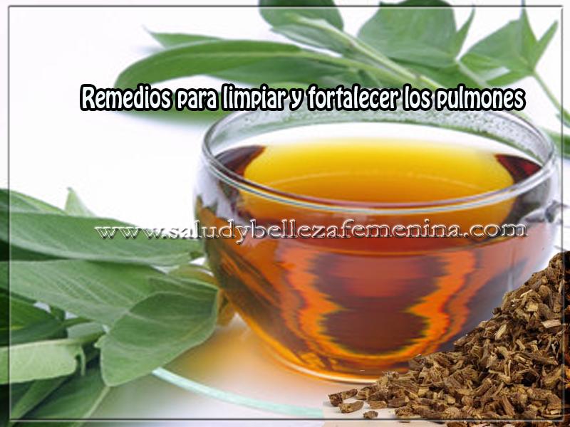 Remedios caseros, salud , remedios para limpiar y fortalecer los pulmones