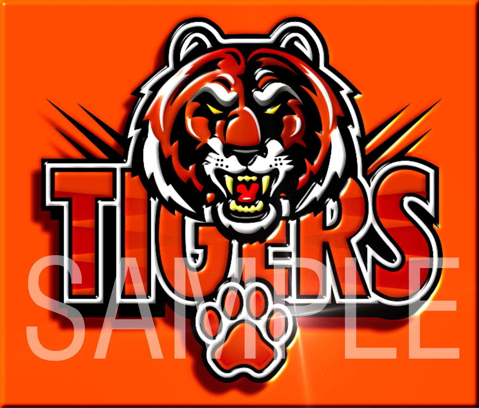 tiger pride clip art - photo #23