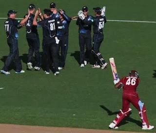 New Zealand vs West Indies 1st ODI 2013 Scorecard, West Indies vs New Zealand 2013 match result,