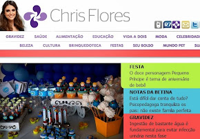 Super Cenário no site da Chris Flores!