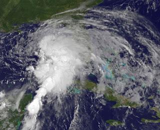 Tropischer Sturm DEBBY am Samstag oder Sonntag, Debby, aktuell, Golf von Mexiko, Florida, Satellitenbild Satellitenbilder, Juni, 2012, Karibik, Hurrikansaison 2012, Atlantische Hurrikansaison,