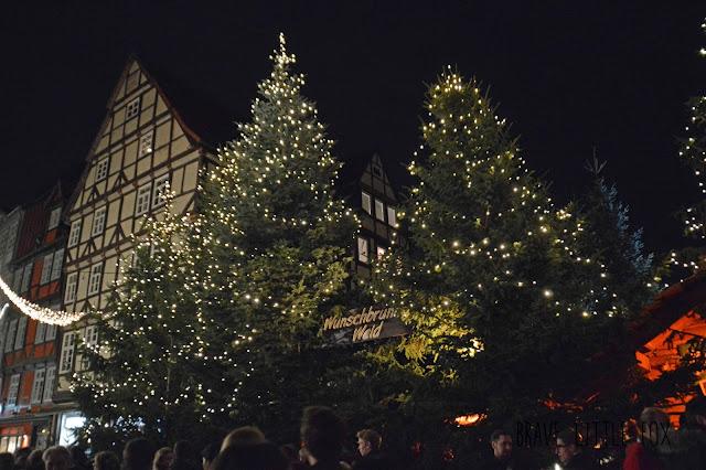 Wunschbrunnenwald Weihnachtsmarkt Hannover