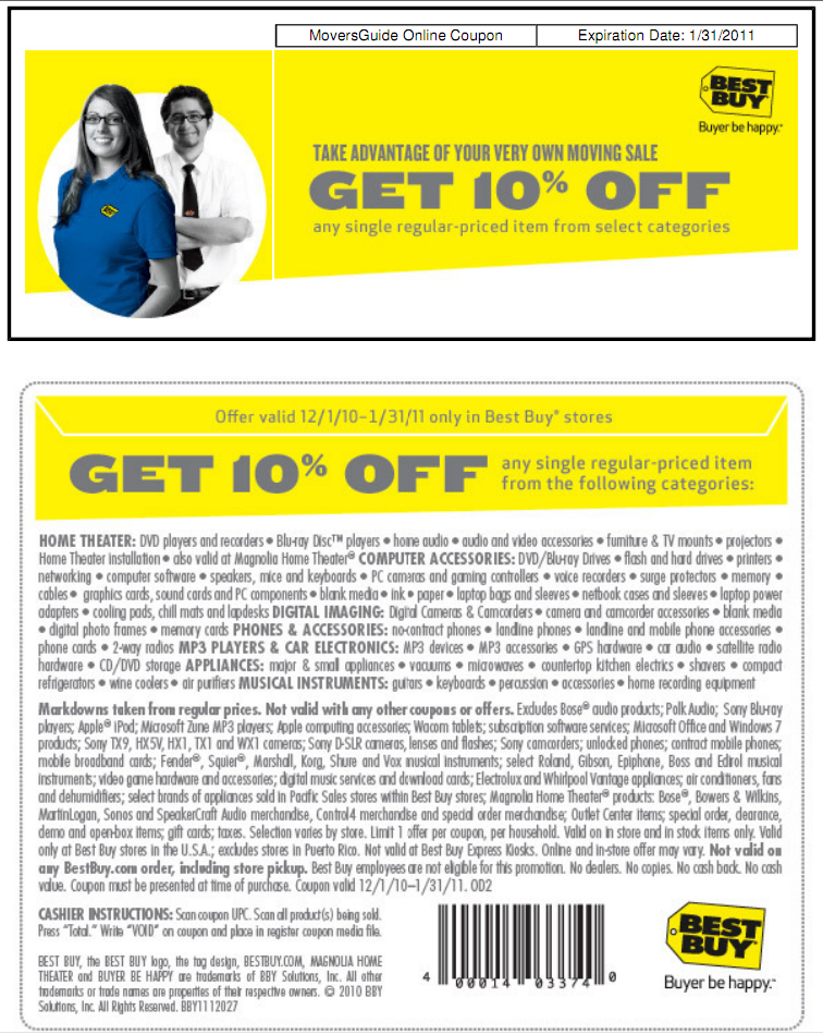 Bestbuy.com coupon code