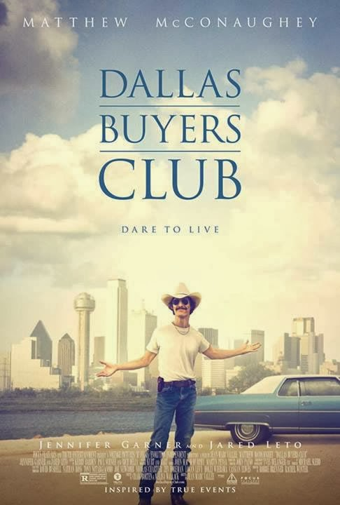 Dallas Buyers Club poster 11Set2013 Download – Clube de Compras Dallas – DVDSCR (2014)