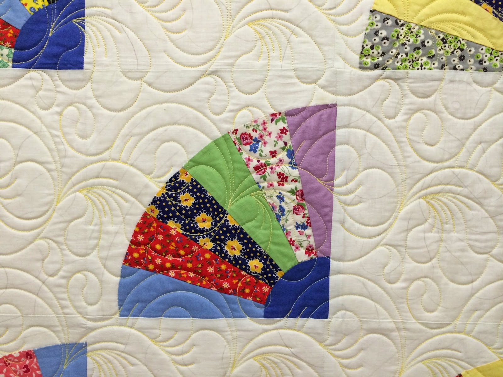 Marilyn McLeod's Grandmother Fan Quilt