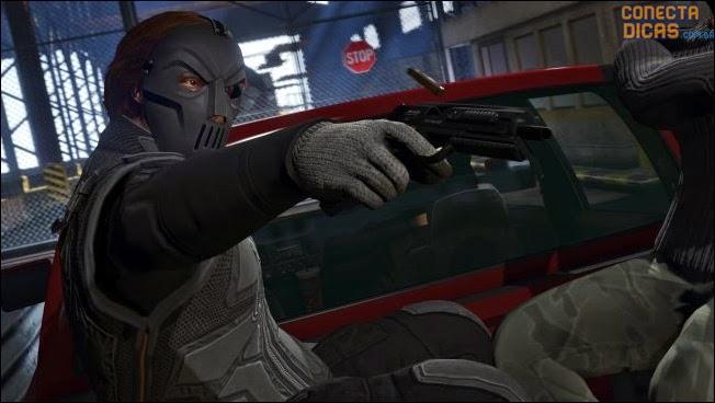 Máscara nova GTA V Assaltos