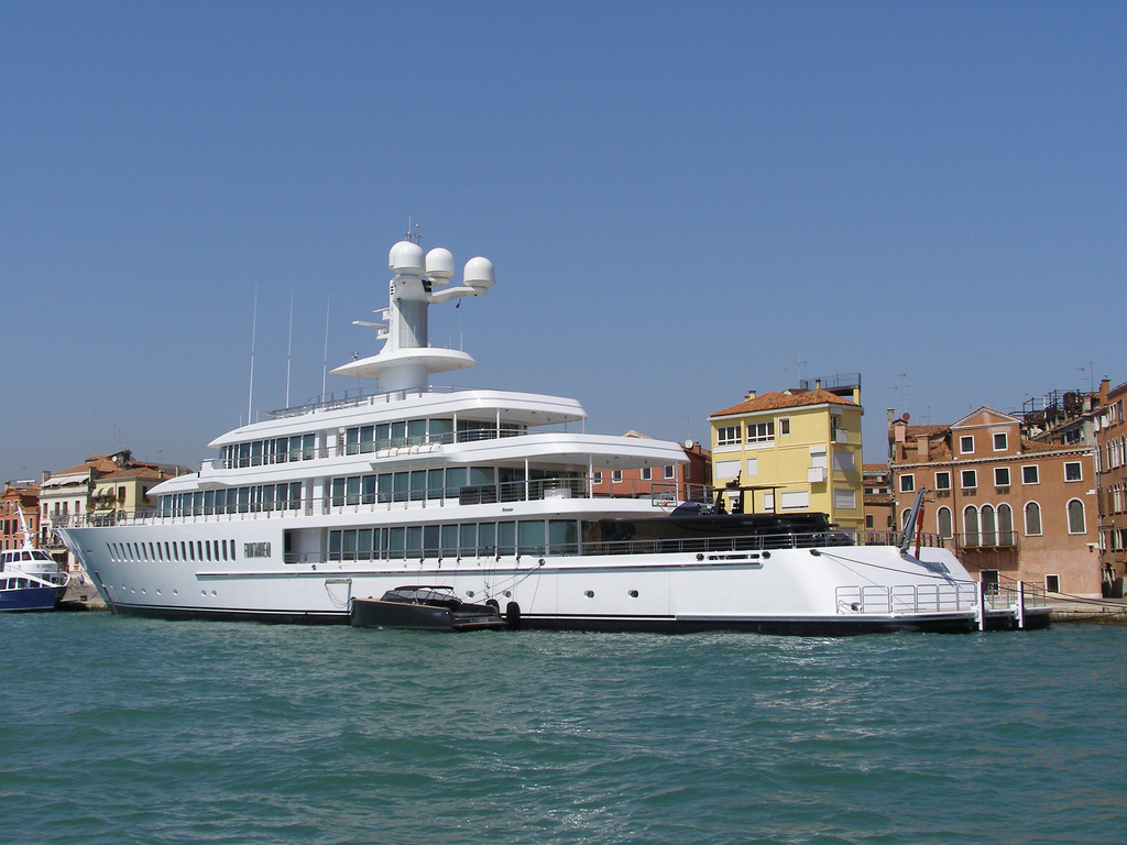Megayacht FOUNTAINHEAD