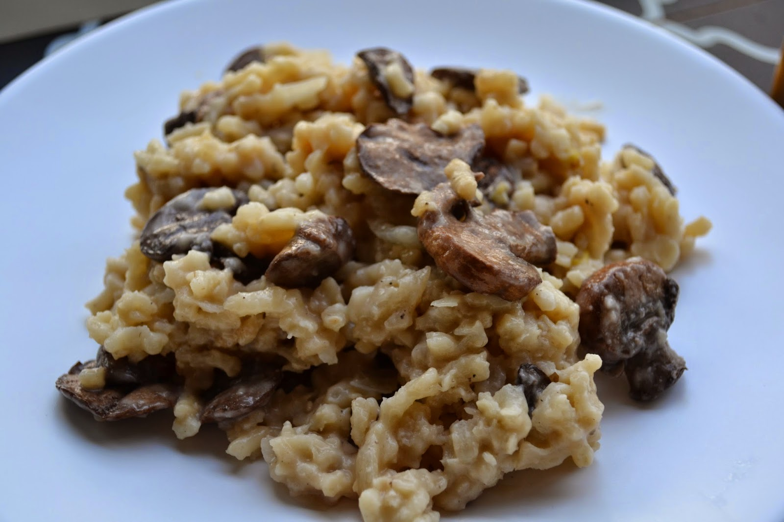 Mushroom Risotto For Under 3 Recipes — Dishmaps