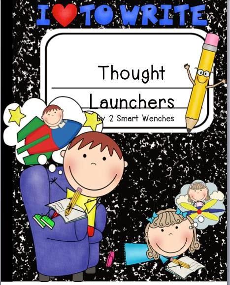 http://www.teacherspayteachers.com/Product/Thought-Launchers-Packet-1-828712