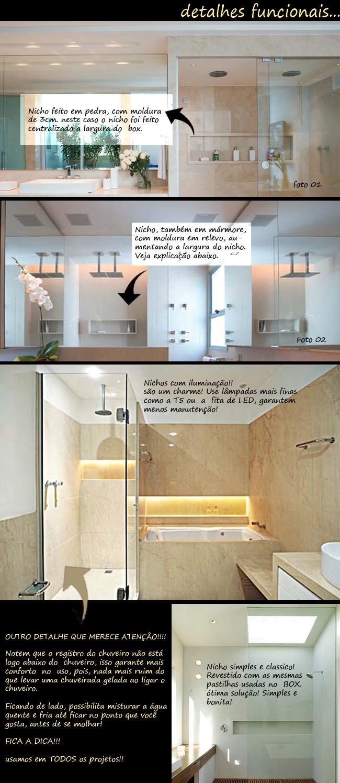ArquiteturaidEA Nicho no BOX! -> Nicho No Banheiro Tamanho