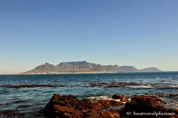 panorama su Robben island