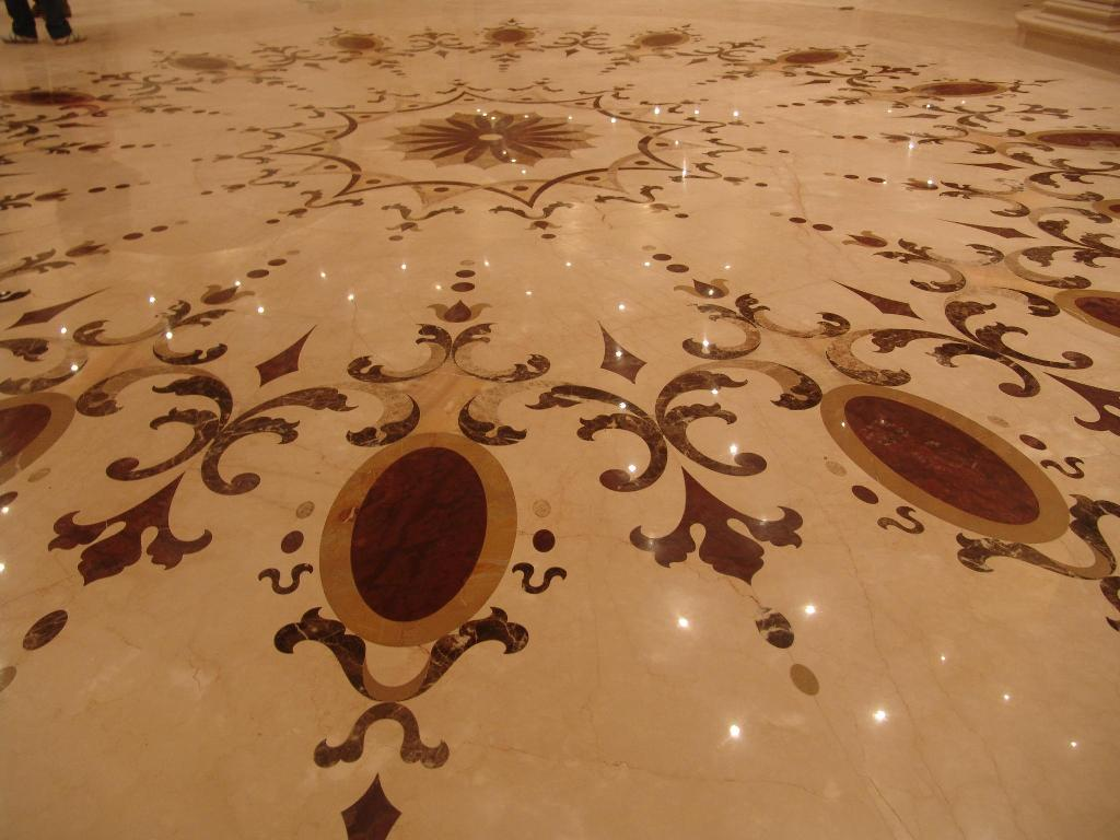 Marble Inlay Flooring Designs : Design flooring