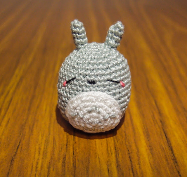 Crocheted totoro amigurumi