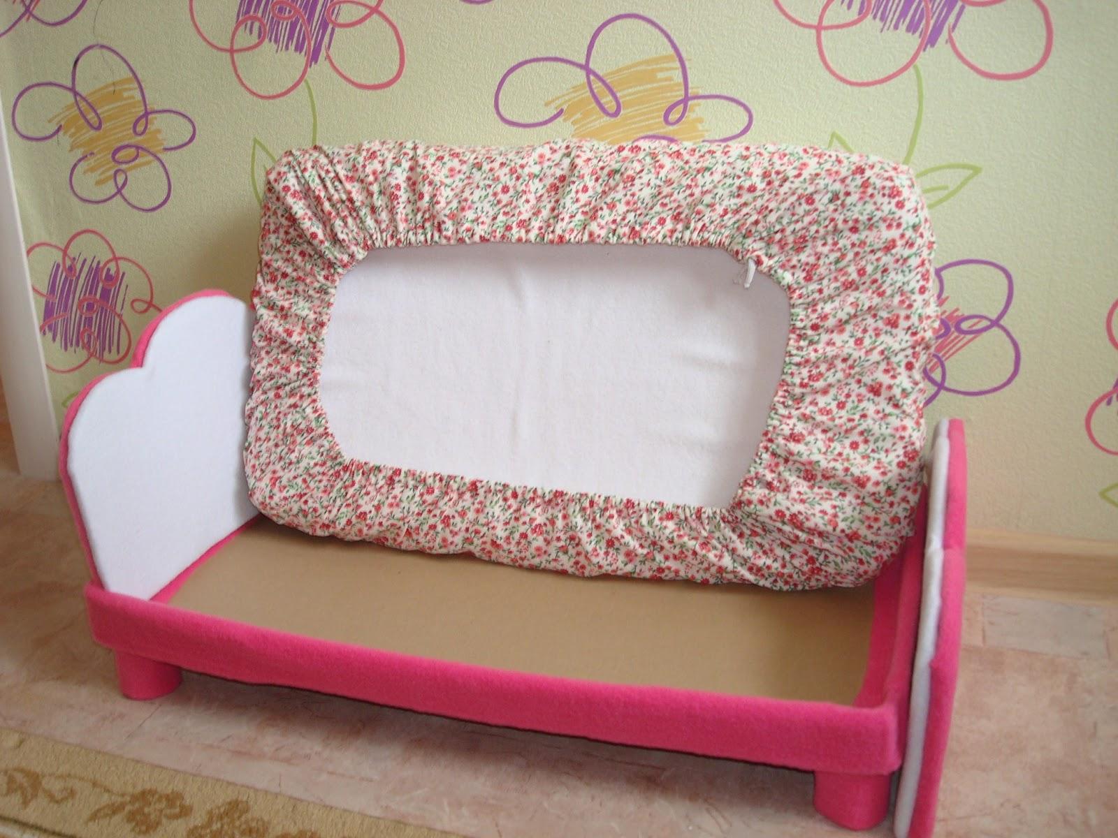 Кровати для куклы своими руками 29